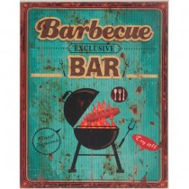 Atlantic Corner - BARBECUE BAR CUADRO DE MADERA