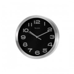 RELOJ DE PARED MEDIANO NEGRO