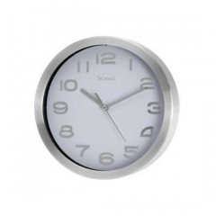 RELOJ DE PARED MEDIANO BLANCO