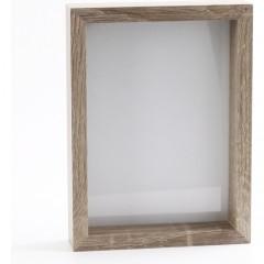 PORTAFOTOS GRIS 10X15 cm